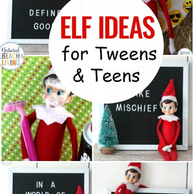 12+ Elf on the Shelf Ideas for Teens and Tweens