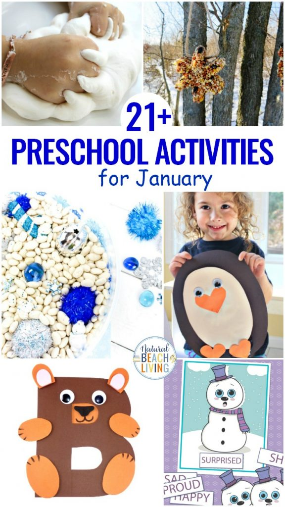 Did you know that you can easily choose fun January themes to enjoy every month of the year? Check out all the fun ideas and Winter Themes Ideas here. Preschool Themes and January Holidays and Activities