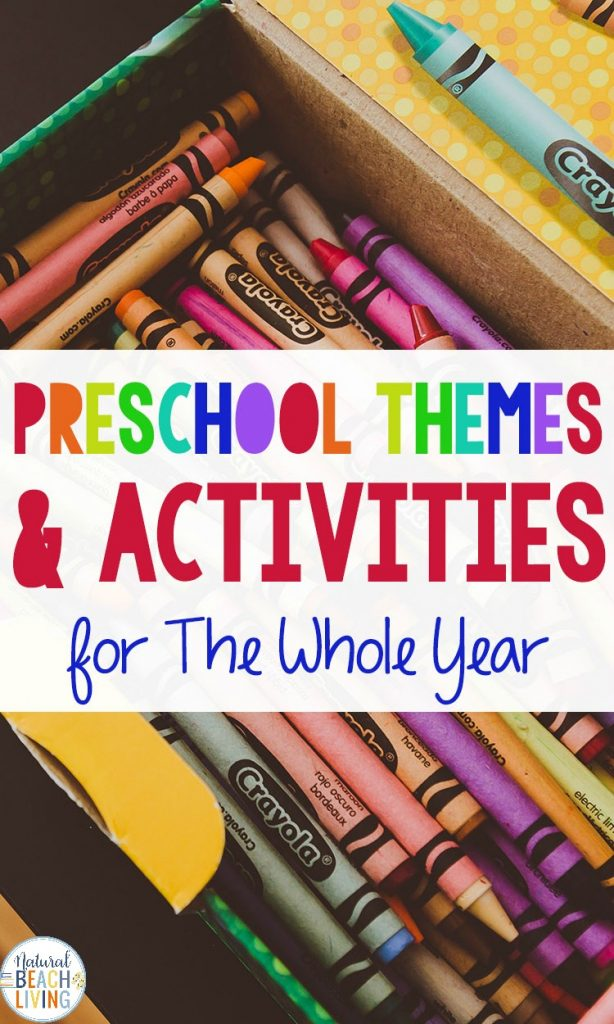 250+ Preschool Themes for the Year, find hundreds of ideas for Monthly Preschool Themes and how to Put together Preschool Lesson Plans, You will also learn How to put together any preschool theme full of preschool math, crafts, Science, Language and hands on activities.