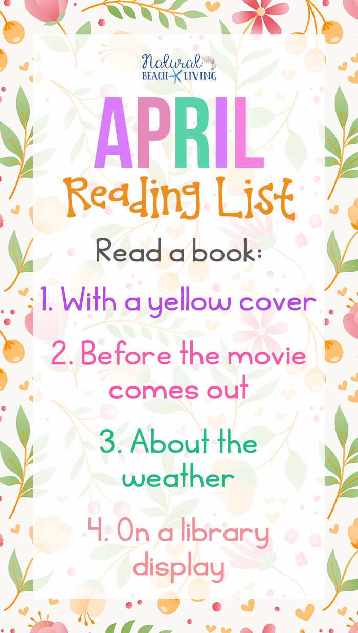 April Reading Challenge Ideas for Kids and Adults