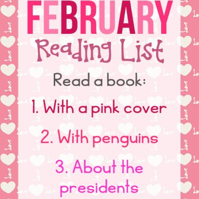 February Reading Challenge Ideas for Kids and Adults