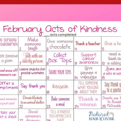 February Random Acts of Kindness Calendar