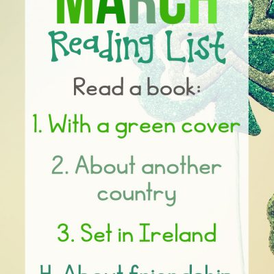 March Reading Challenge Ideas for Kids and Adults