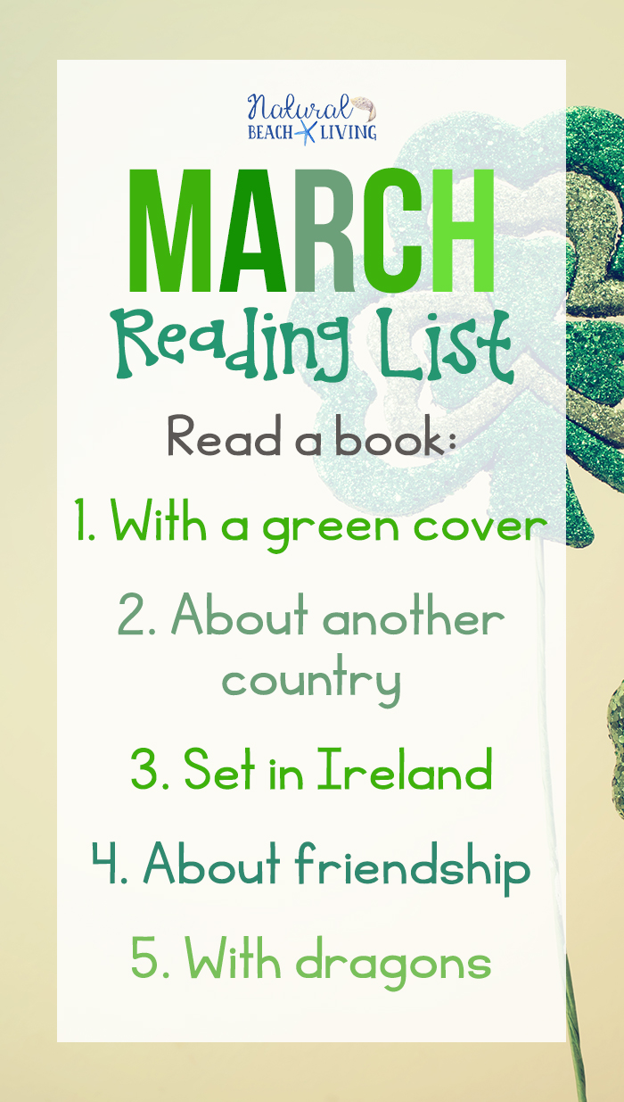 March Reading Challenge Ideas. I packed this months Reading Challenge with GREAT books inspired by St. Patrick's Day, Books about Dragons, Friendship and Geography for kids and adults.Reading New Books and Genres all month long, Importance of Reading