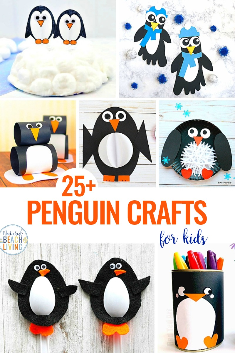 25 Penguin Crafts For Kids Penguin Activities For Kids Penguin Crafts Make A