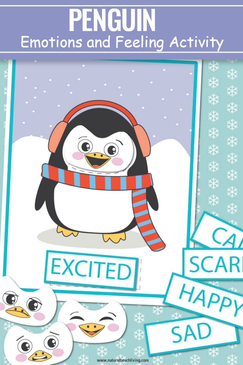 Preschool Emotions Printables Penguin Activities, Emotions Preschool Printables and Penguin Activities, Preschool Activities and penguin free printable emotion cards are perfect for a winter theme. Help children of all ages learn to recognize, manage and understand feelings and emotions with these penguin emotions cards. Emotions Preschool Theme, Feelings Preschool and Penguin Activities for Preschoolers and Kindergarten