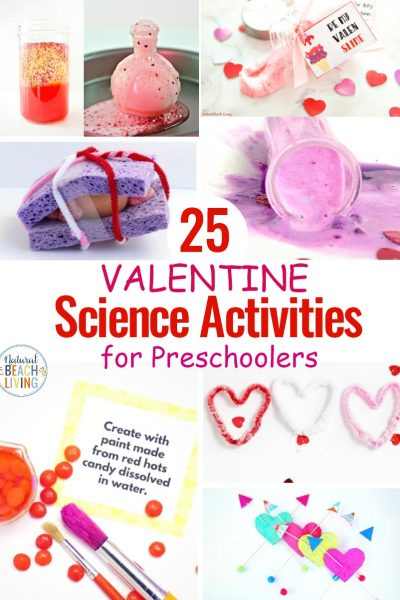 25 Valentine Science Experiments for Preschoolers