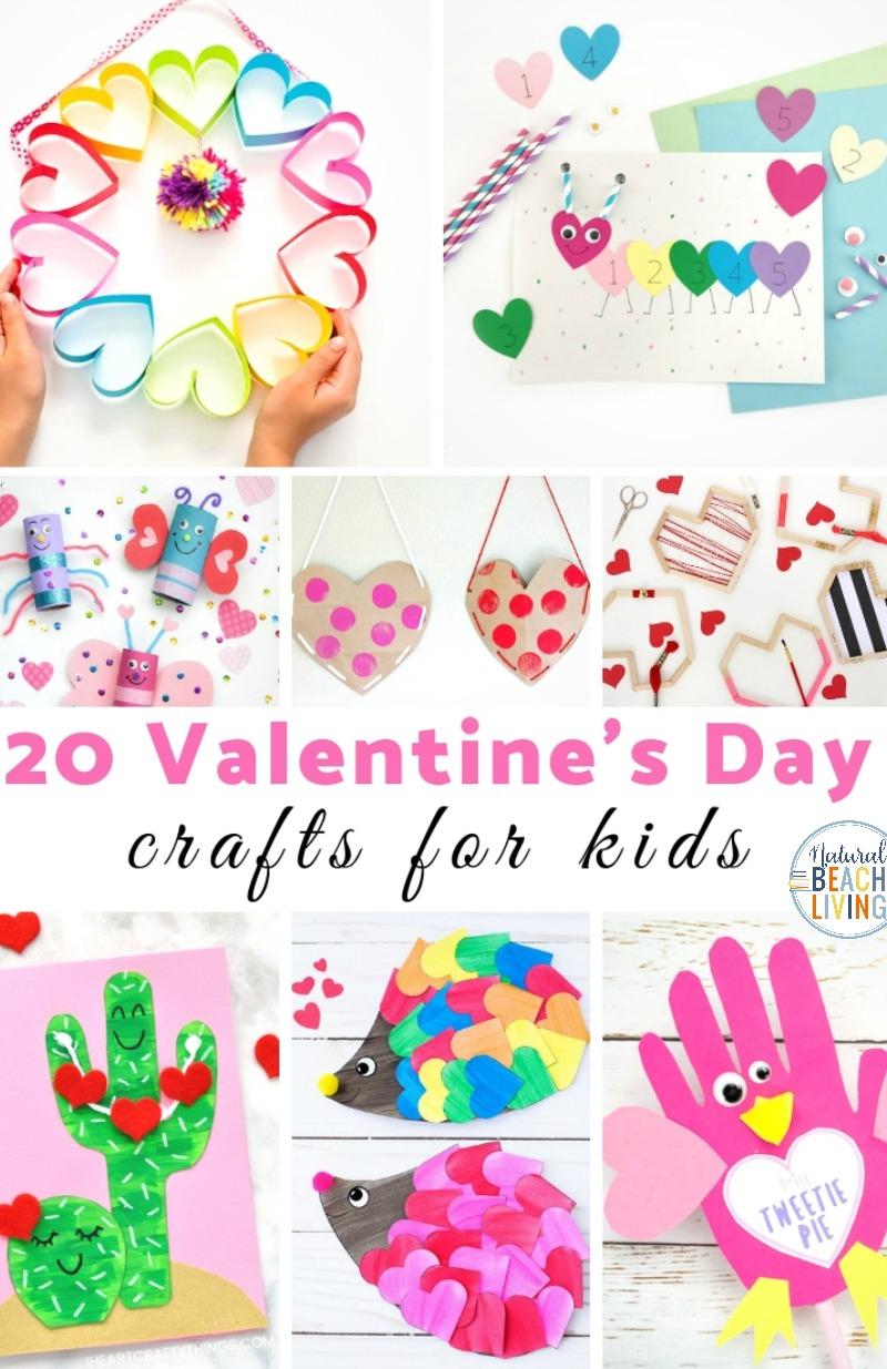 26 Valentine Crafts For Preschoolers Natural Beach Living