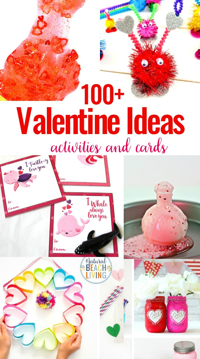 100+ Valentine's Day Ideas and Activities for Kids, super cool and super simple Valentines preschool activities. There are so many great hands-onValentines Day activities for preschoolers and older children.So if you are looking forValentine's Day activities for kids,from math to literacy to science, sensory, printable cards, and more, these red and pink activities are The Best