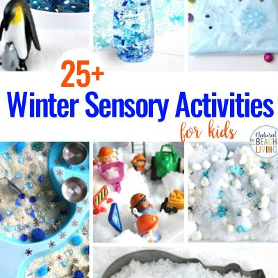 25+ Winter Sensory Activities and Winter Theme Ideas