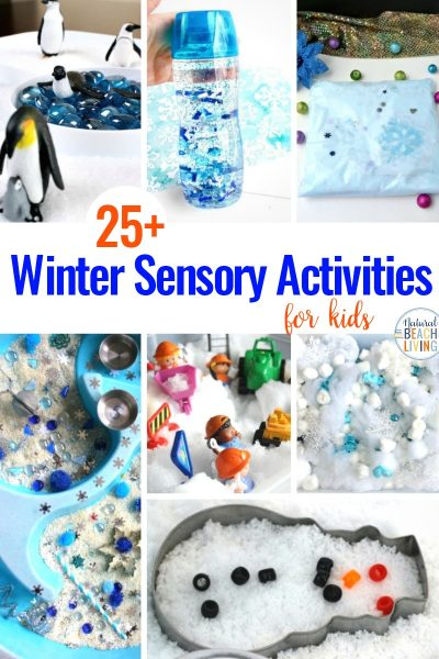 25+ Winter Sensory Activities and Winter Theme Ideas