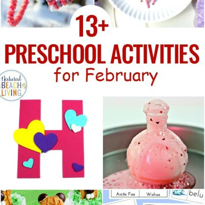 13+ February Preschool Themes with Lesson Plans and Activities