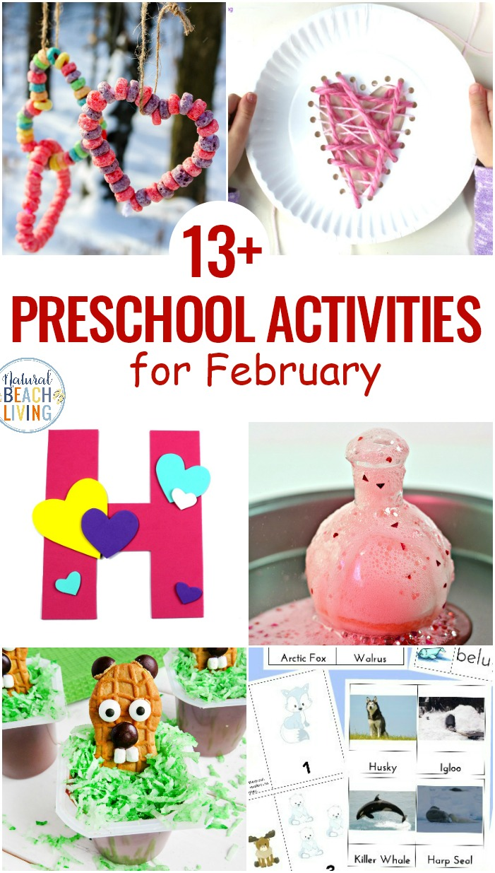 February Preschool Themes with Lesson Plans and Preschool Activities are full of fun activities to enjoy with your kids. These preschool themes are perfect for the cold winter months. Pick your favorite topic like acts of kindness for preschoolers and winter animals preschool.