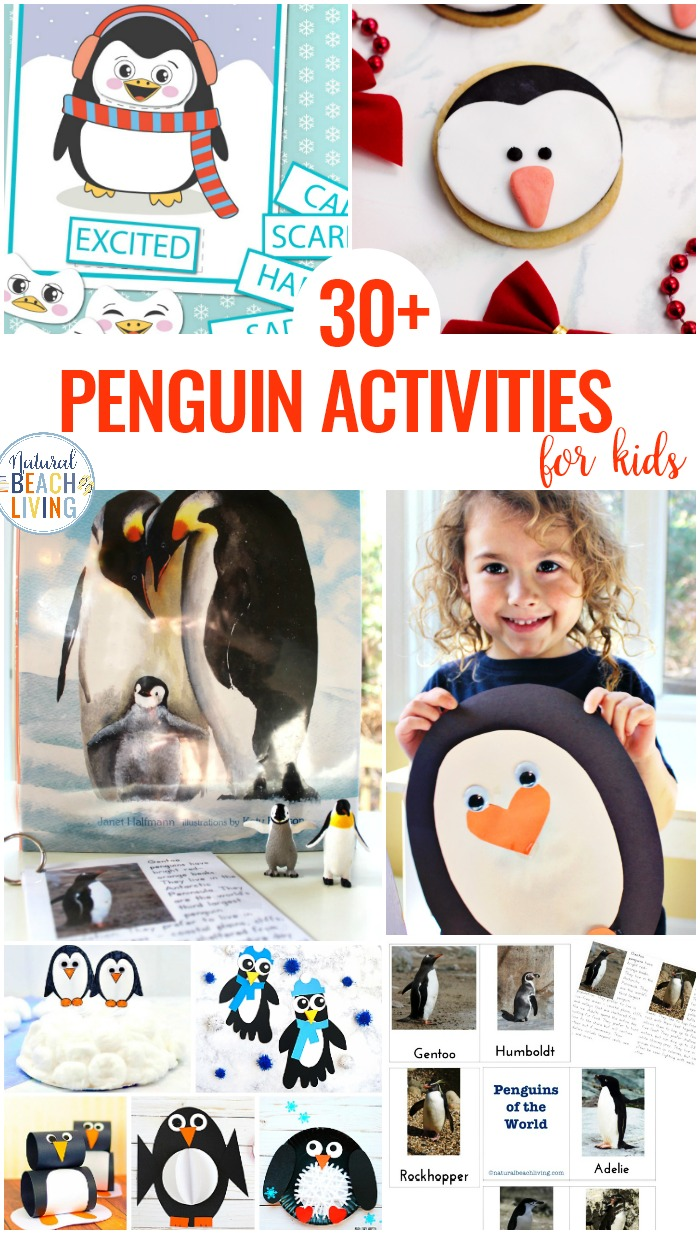 30+ Penguin Activities for Kids, The BEST Penguin Activities and Penguin Crafts for Kids. You can incorporate these into a Penguin Theme for Penguin Awareness Day or enjoy them with your kids for fun! A Penguin theme can make your day full of fun with activities, crafts, games, and snacks. Penguin Activities for Preschoolers and Kindergarten