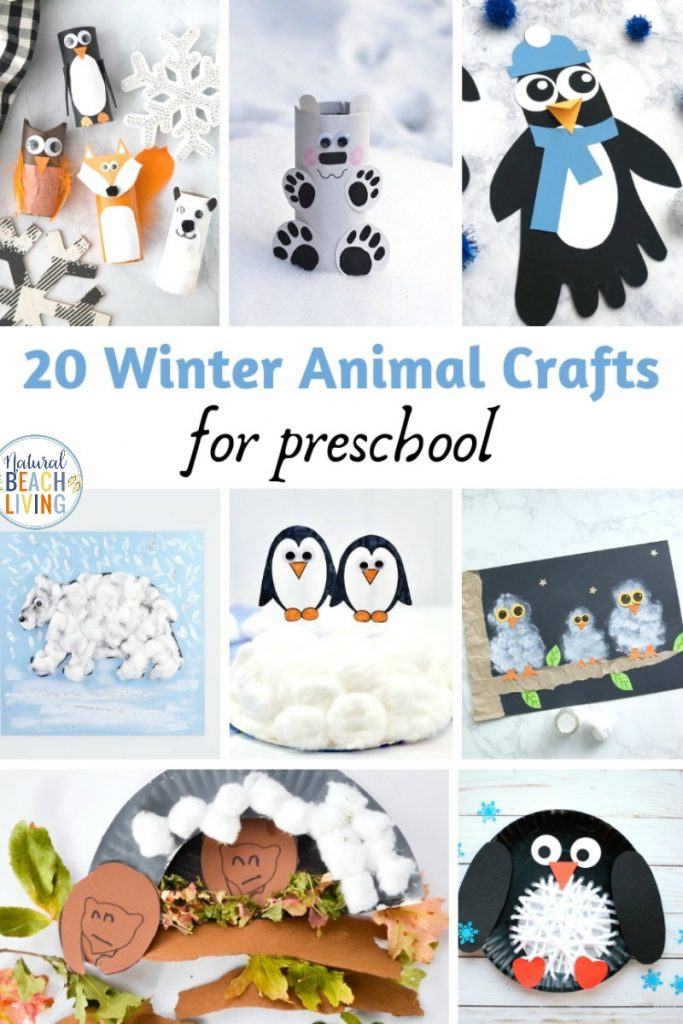Check out these fun January Preschool Crafts! They're simple and adorable and certain to be a hit with preschool, toddler and Kindergarten. Jump start your year of preschool lesson plans with perfect Winter Art and Craft Activities and Easy Winter Crafts for Toddlers and Preschool