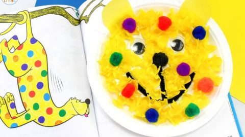 Put Me In The Zoo Craft For Preschoolers Dr Seuss Paper Plate Craft Natural Beach Living