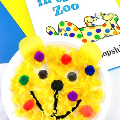 Put Me in the Zoo Craft for Preschoolers – Dr. Seuss Paper Plate Craft