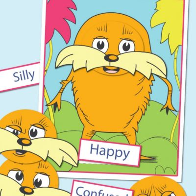 Dr. Seuss Printables Preschool Emotions Lorax Activities
