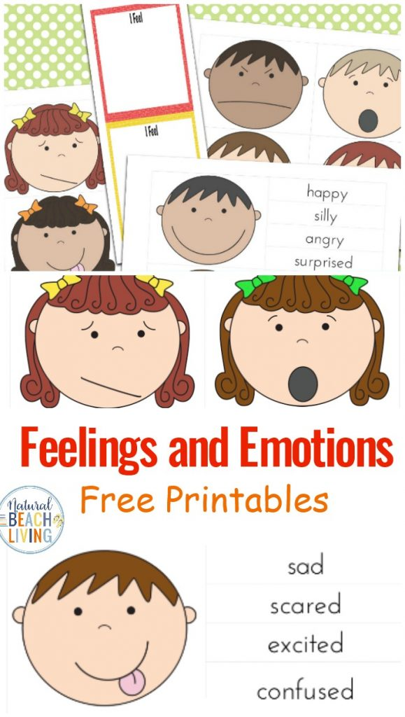 These are wonderful Books and Activities on Managing feelings and Emotions, Feelings Game Printable and Feelings Book Printable, best Preschool Emotions Printables, These are perfect preschool printables and printables for Autism, Free Printable Emotions Cards and Preschool Emotions Printables, Feelings Puppets Printables work great for children with Special Needs and Autism.