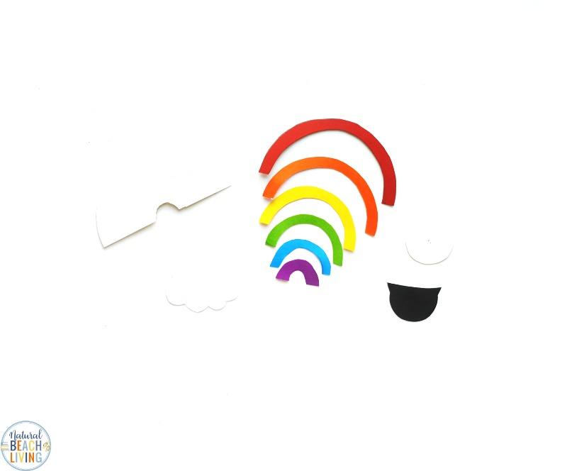 Leprechaun Garden, Gardening Activities for Preschoolers, With just a few supplies, you can make a cute Leprechaun Garden for St. Patrick's Day. This Easy Garden idea for preschoolers and kindergarten is a sweet rainbow garden you can enjoy all spring. St. Patrick's Day Craft for Preschoolers