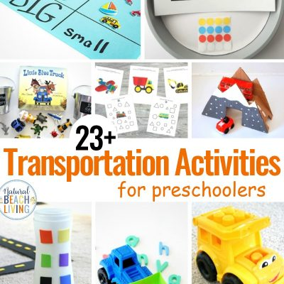 23+ Preschool Transportation Activities Kids Love