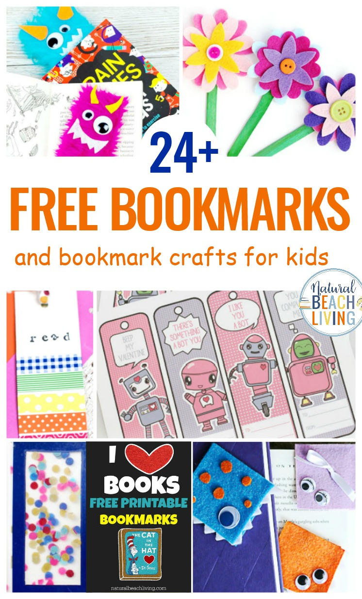 image regarding Cute Bookmarks Printable known as 24+ Bookmarks for Youngsters - Totally free Printable Bookmarks and Do-it-yourself