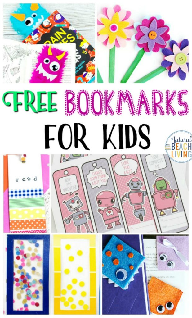 Bookmarks for Kids, Make reading fun with Free Bookmarks for Kids in a variety of fun styles and themes. These free printable bookmarks and DIY bookmark ideas are Perfect! Use Bookmarks for rewards, kindness ideas at the library, and party favors.