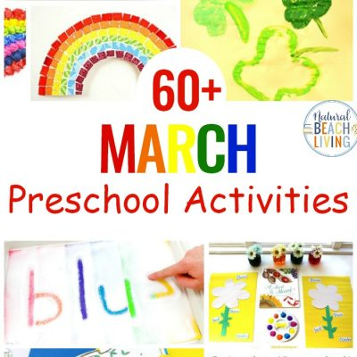 13+ March Preschool Themes with Lesson Plans and Activities