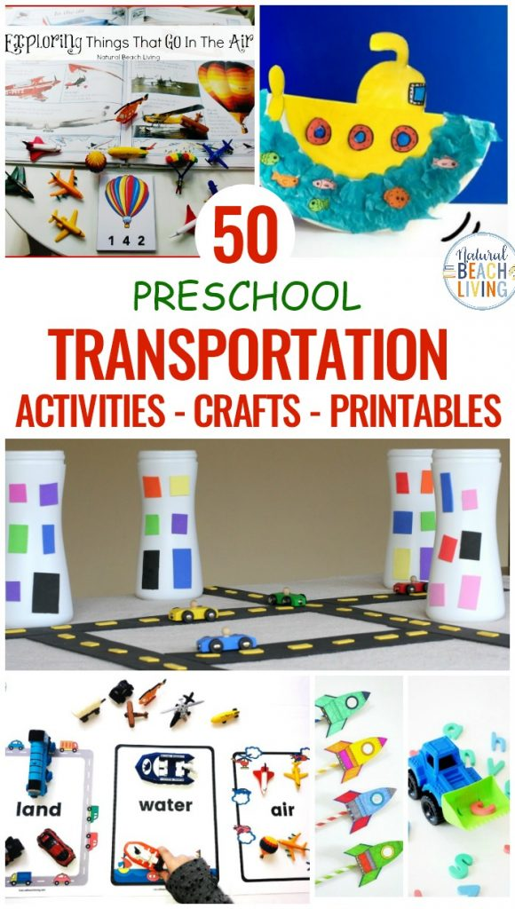 Transportation Theme Preschool, Here you'll find over 50 Preschool transportation theme activities, lesson plans, crafts and printables for Toddlers, Preschool, and Kindergarten. If you are looking to fill your Transportation Theme Preschool Topic with fun preschool transportation Crafts, Sorting Printables, and Preschool Transportation activities you'll find everything you need here.