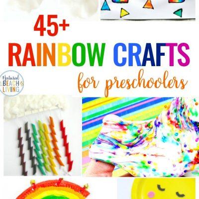 45+ Rainbow Crafts for Preschoolers