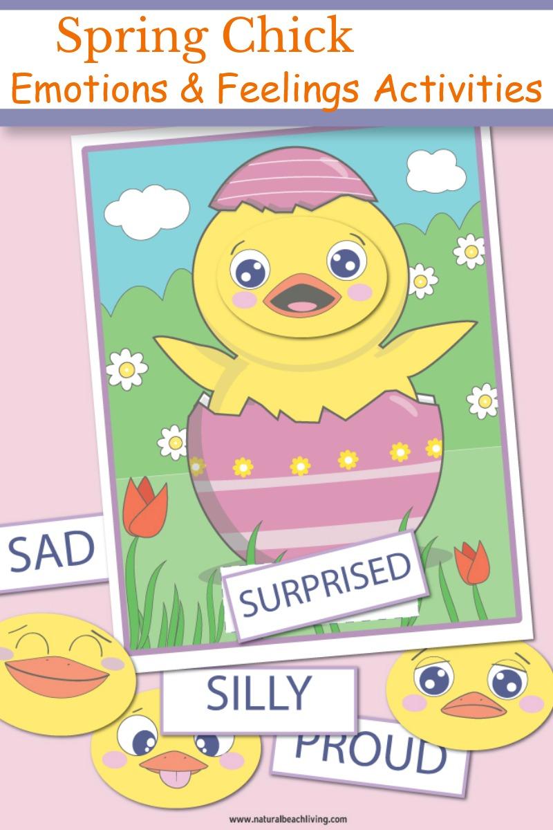 Spring Feelings and Emotions Activities for Preschoolers