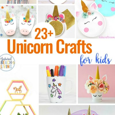 23+ Unicorn Crafts for Kids
