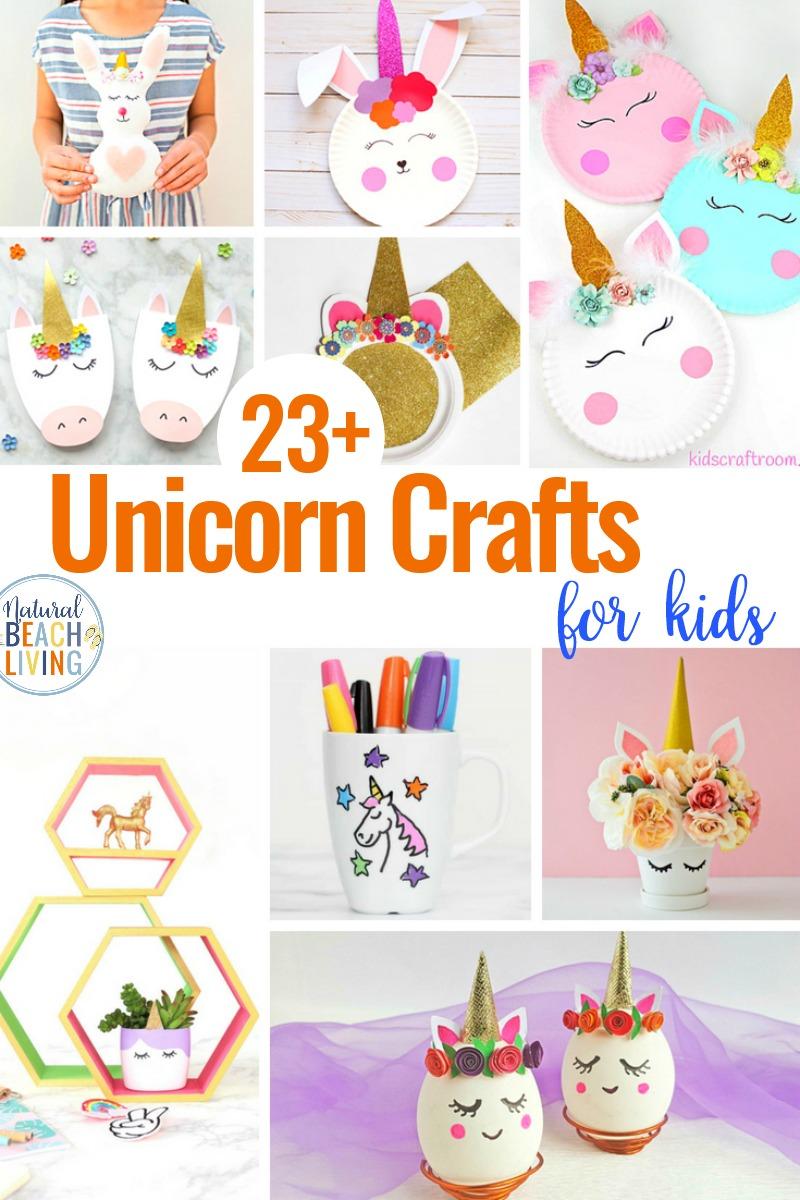 23+ Unicorn Crafts for Kids