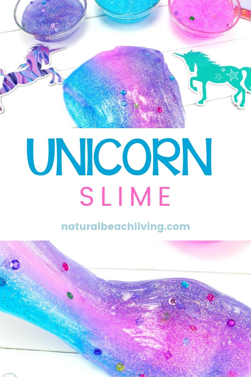 Unicorn Slime – The Best Slime Recipe