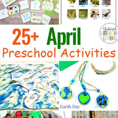14+ April Preschool Themes with Lesson Plans and Activities