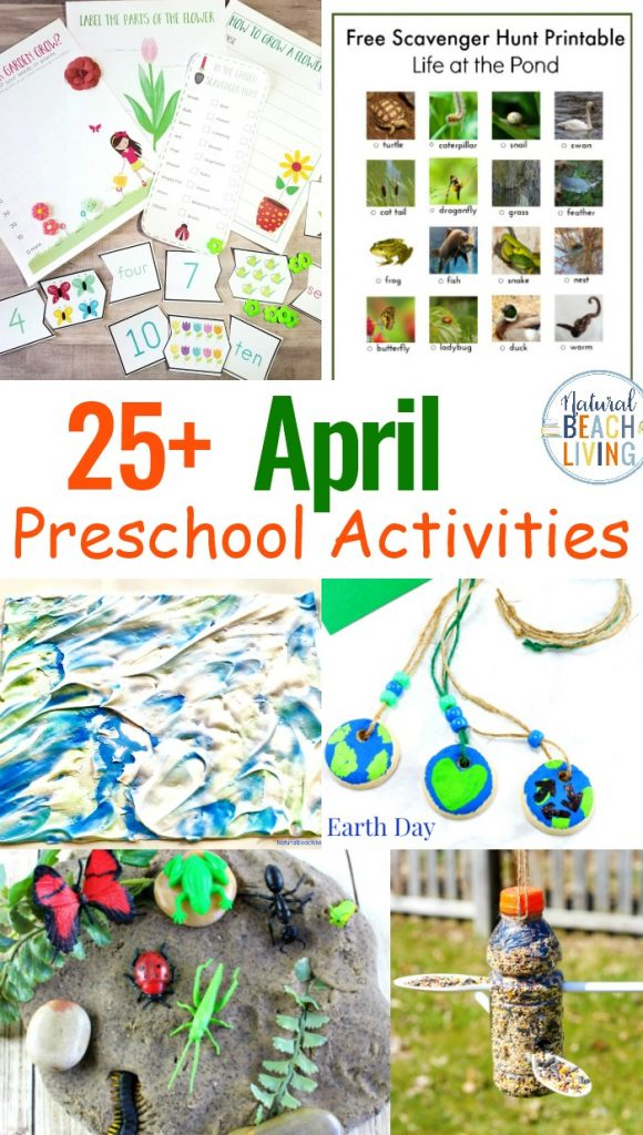 April Preschool Themes with Lesson Plans and Activities, April Preschool Themes is full of hands-on learning activities for spring.preschool activities. You'll find Easter activities, Earth Day Activities and Crafts, sensory play, flower crafts, Life Cycle of a butterfly and plants, Preschool Science. Weekly Preschool Themes and Preschool Activities for the whole year