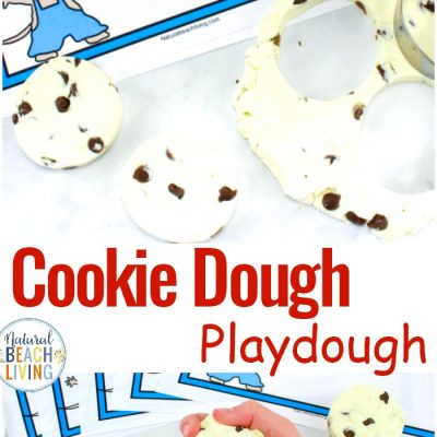Cookie Dough Playdough Recipe – Edible Playdough If You Give A Mouse A Cookie Activities