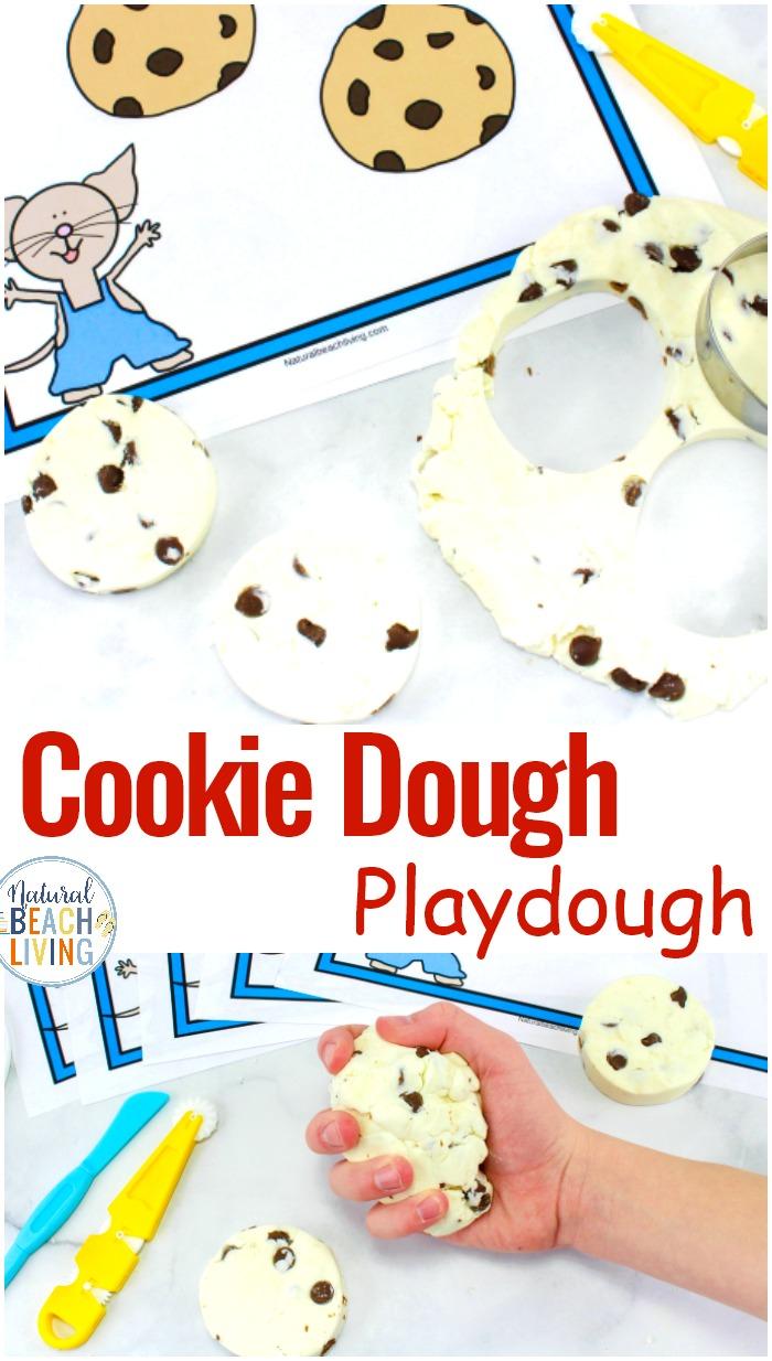 Cookie Dough Playdough Recipe – Edible Playdough If You Give A Mouse A Cookie Activities