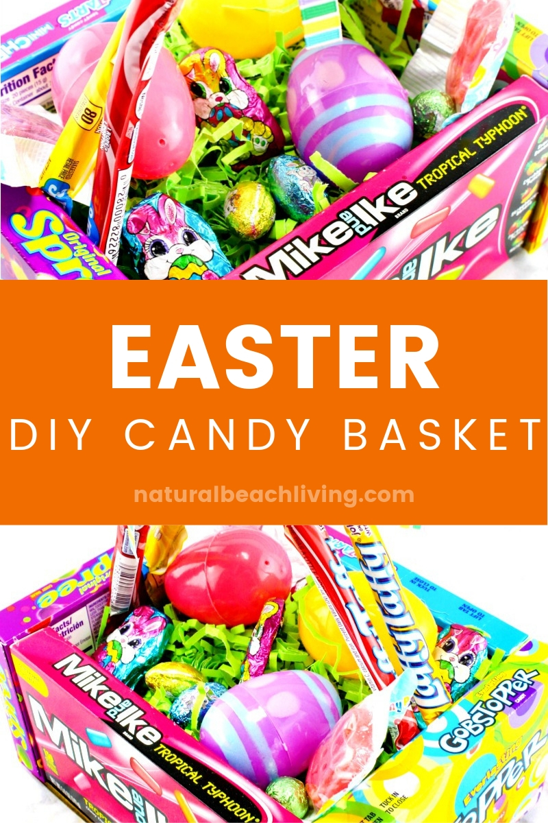 DIY Candy Box Easter Baskets for Kids