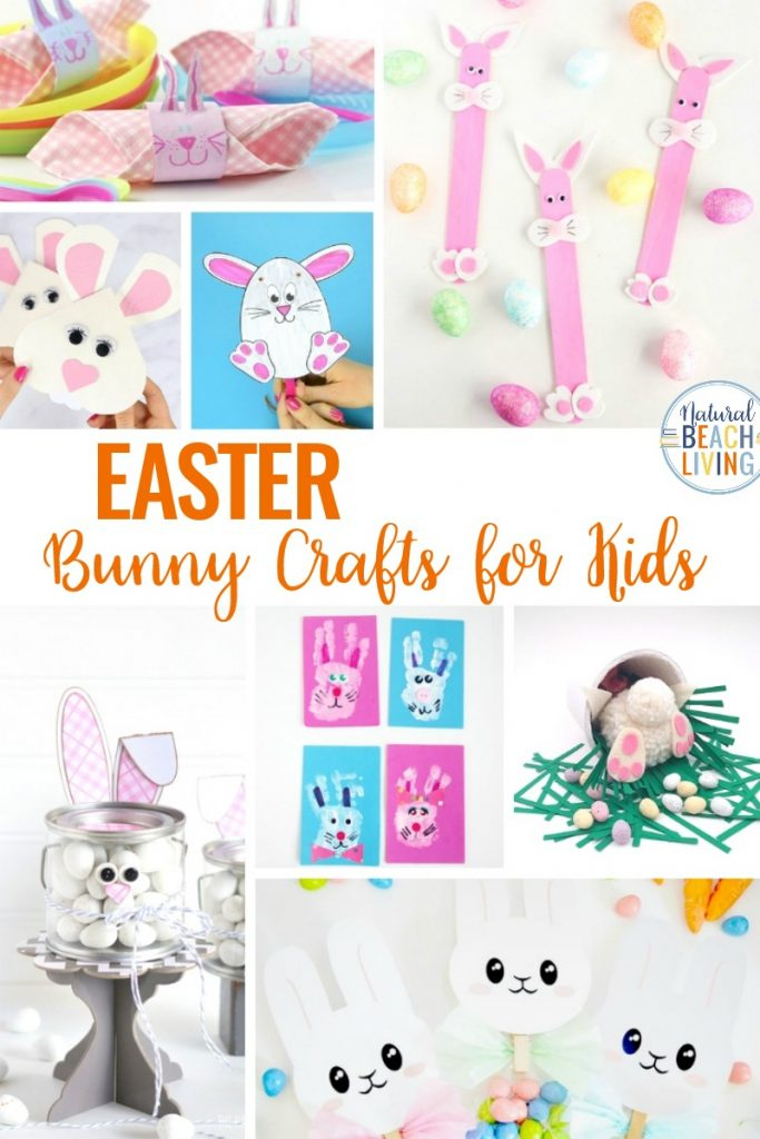 Easter Bunny Crafts for Kids, Here you'll find a variety of Easter Crafts for Kids. Ideas like Easter bunny handprints to paper plate bunny masks. These Easter bunny crafts are perfect for preschoolers and kindergarten, Easy Easter Crafts for Preschoolers