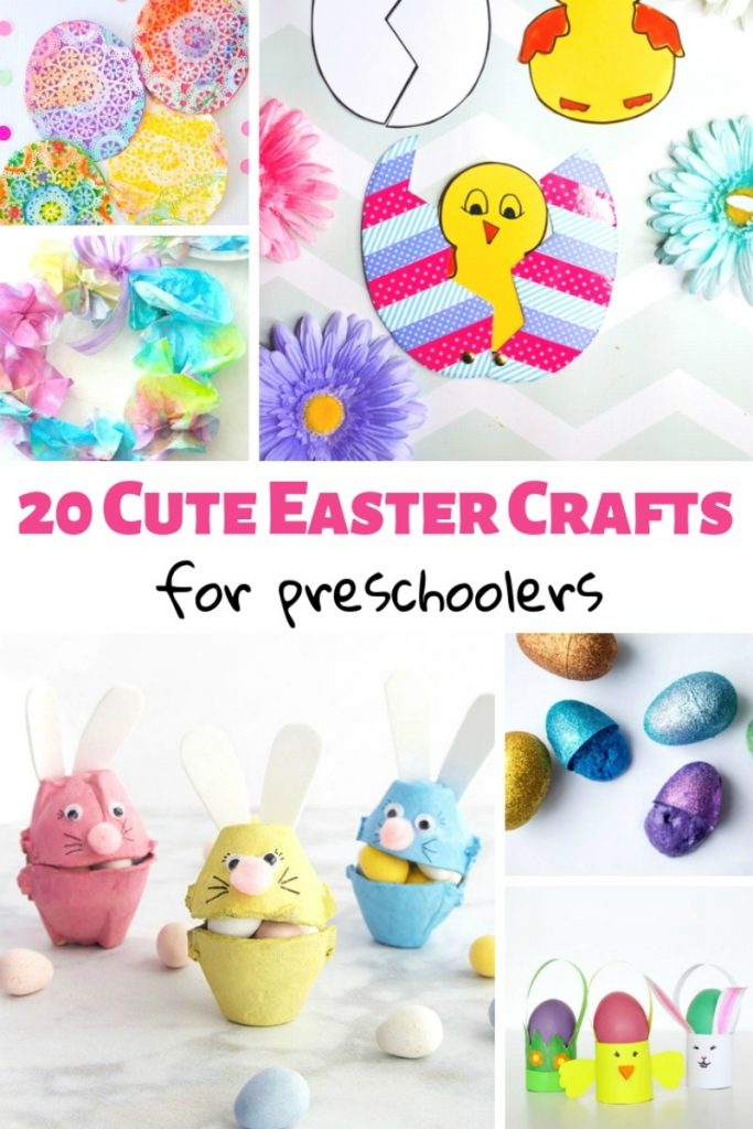 25 Easter Crafts For Preschoolers Natural Beach Living