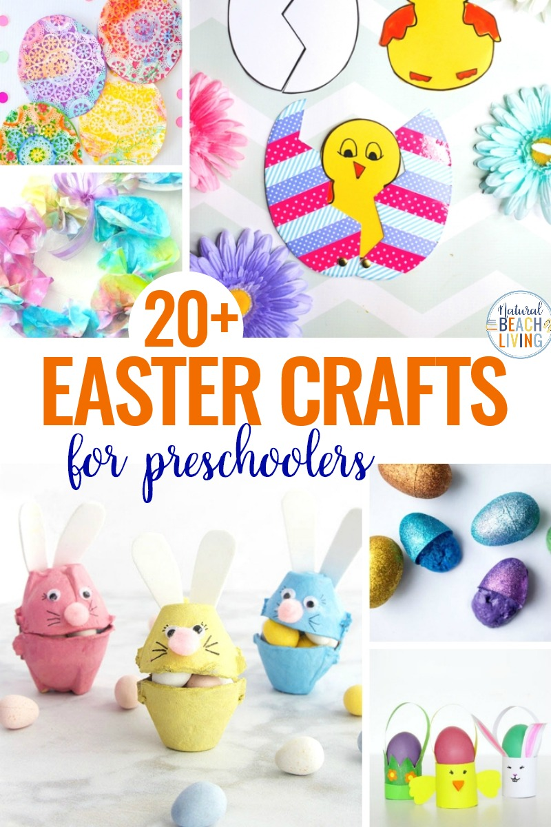 25+ Easter Crafts for Preschoolers