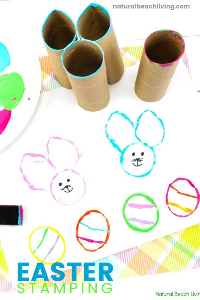 Easy Easter Bunny Crafts for preschool, Perfect Toddler and Preschool Easter Crafts, These are some of the easiest and cutest DIY Easter Bunny and Egg Crafts for preschoolers, Easter Bunny Craft Ideas, Easy Easter Bunny Crafts for Kids, Preschool Easter Bunny Crafts, Toilet Paper Roll Craft for Easter, DIY Easter Stamps for Kids, Easter Art for preschoolers