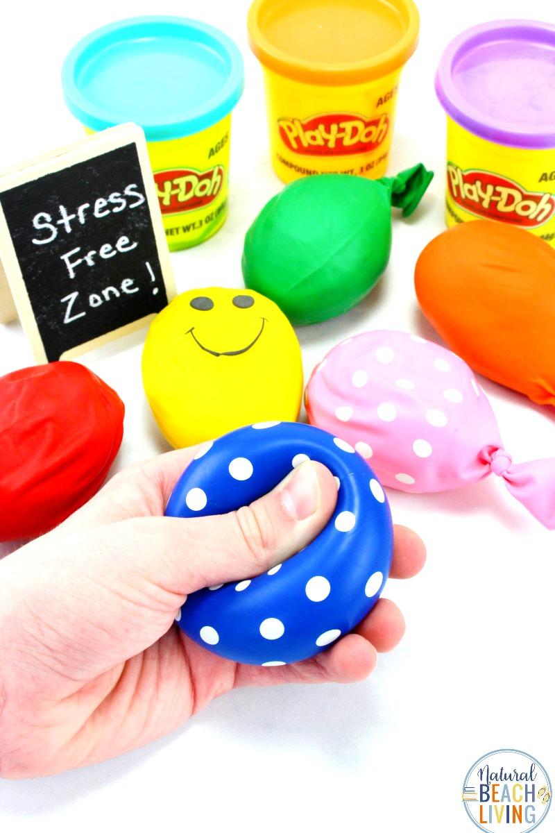 Stress Ball DIY – Playdough Stress Balls