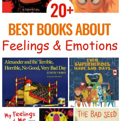 25+ Preschool  Books about Feelings and Emotions