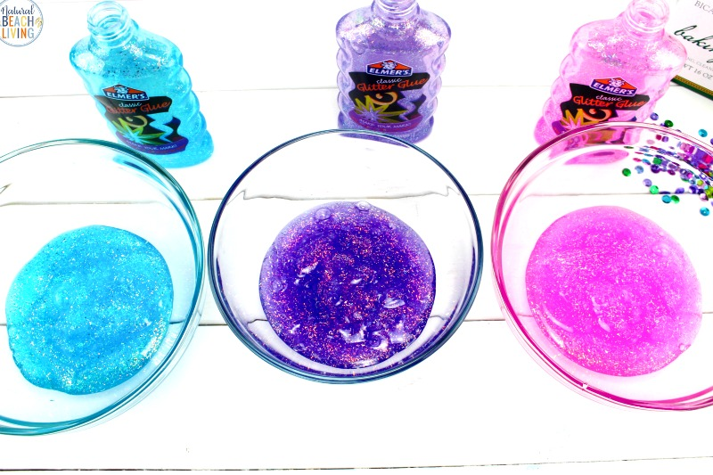 THE BEST Contact Solution Slime, This is the perfect Unicorn Slime made with only a few ingredients for fun sensory play. This Slime Recipe with Contact Solution ia an easy Glitter Glue Slime Recipe, See How to Make Slime with Contact Solution and How to Make Unicorn Slime with your kids