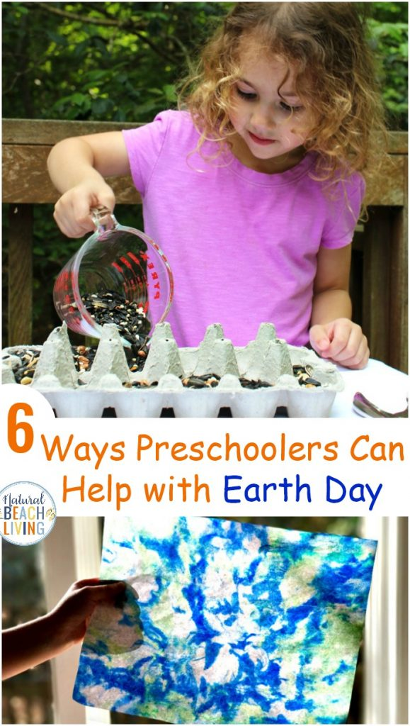 The Best Earth Day Activities for Preschoolers and How Preschoolers Can Help with Earth Day, Here are 7 ways Preschoolers can participate on Earth Day and Every Day with fun Earth Day Ideas, Earth Day Crafts learning about pollution, recycling and reusing to save the Earth, Earth Day Activities