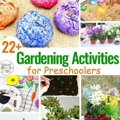 25 Gardening Activities for Preschoolers