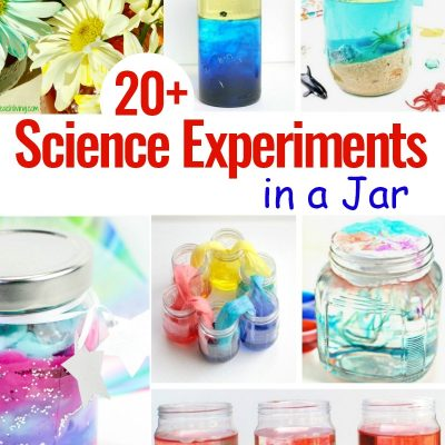 24+ Science Experiments in a Jar
