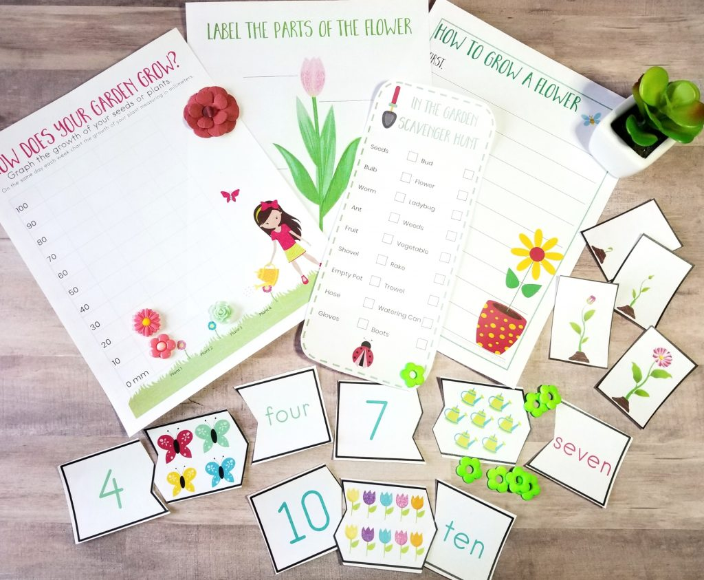 Here you will find over 60 Spring Printable Activities for Kids, These are Fun Printable Activities like scavenger hunts, flower themes, spring printable games, literacy skills, math activities and so much more. Printable Activities for Toddlers and Preschoolers, and Free Printable Worksheets for Kindergarten.